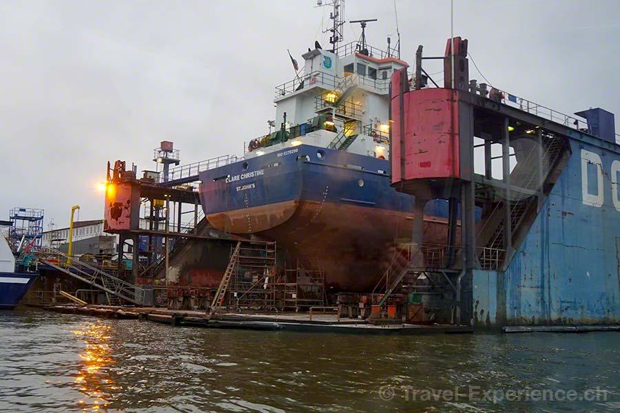 Hamburg, Hafen, Hafenrundfahrt, Trockendock