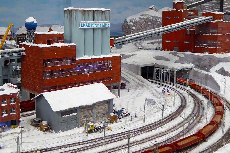 Hamburg, Miniatur Wunderland, Modelleisenbahn, Märklin