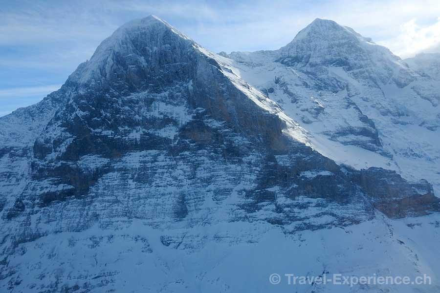 Berner Oberland, Helikopterflug, Eiger Nordwand