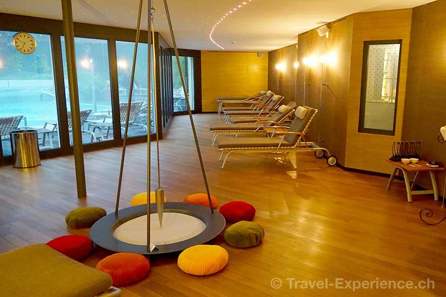 Appenzell, Hotel Hof Weissbad, Ruheraum