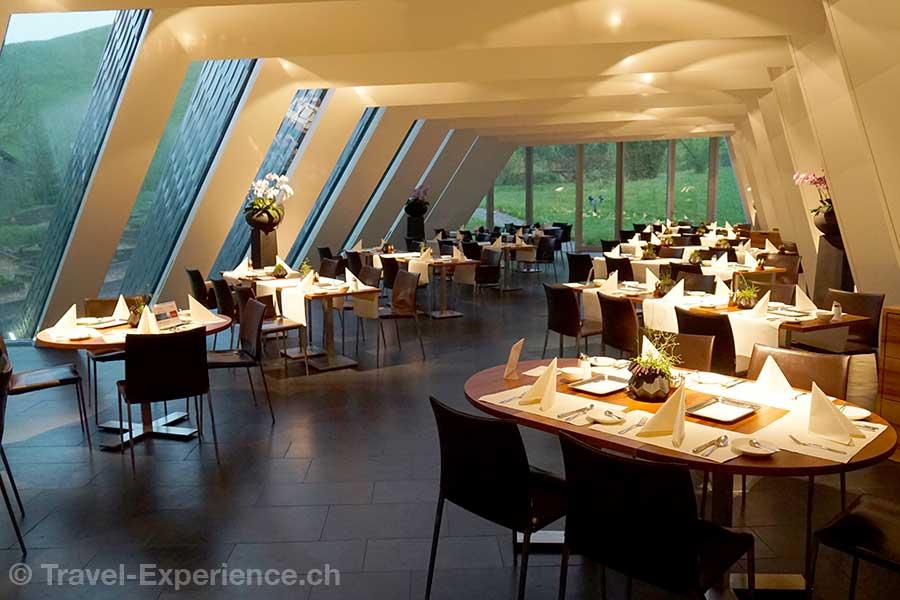 Appenzell, Hotel Hof Weissbad, Restaurant Flickflauder, innen