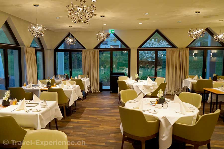 Appenzell, Hotel Hof Weissbad, Restaurant Veranda