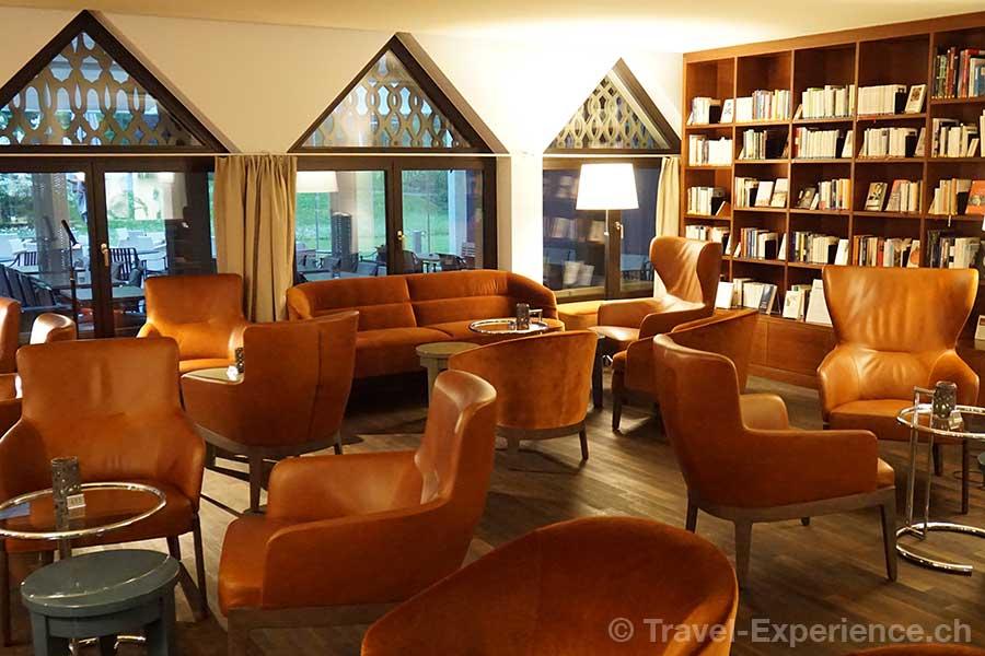 Appenzell, Hotel Hof Weissbad, Leseecke, Bar
