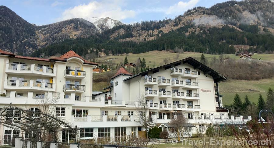 oesterreich, Bad Hofgastein, Hotel Bismarck, Aussenansicht