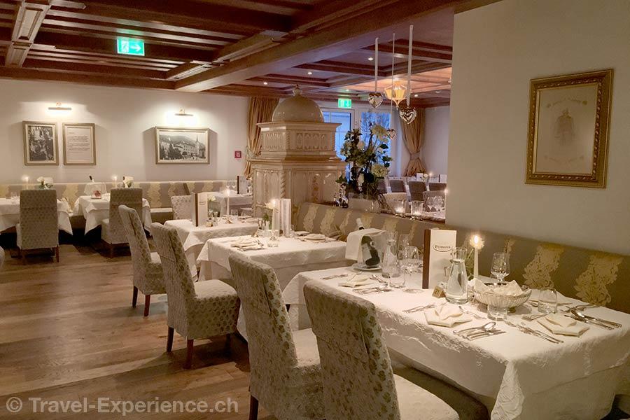 oesterreich, Bad Hofgastein, Hotel Bismarck, Gaststube