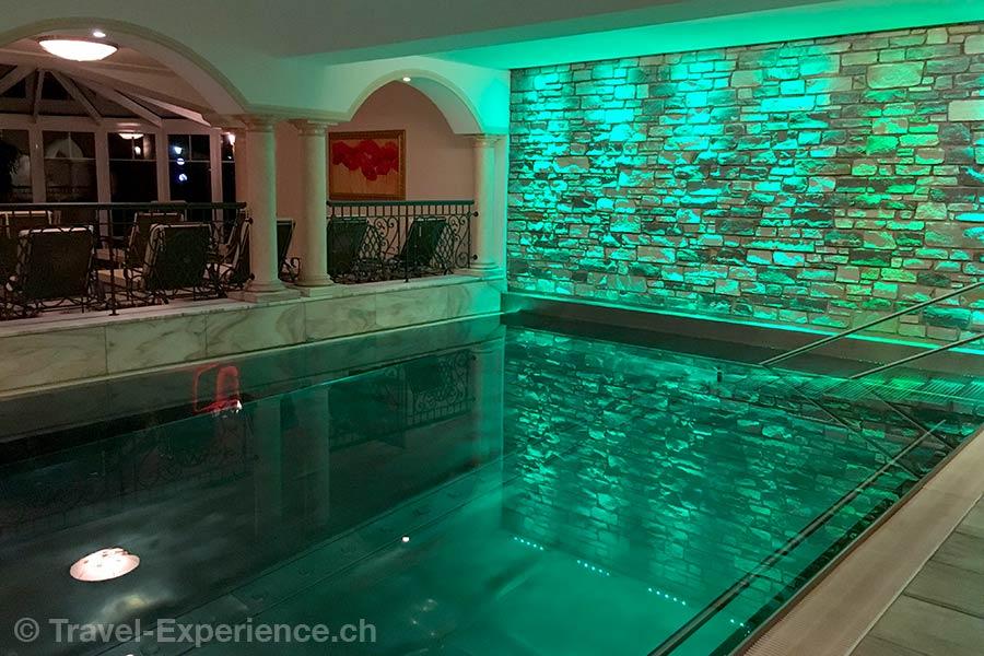 oesterreich, Bad Hofgastein, Hotel Bismarck, Thermalwasser, Pool, Wasserwelten