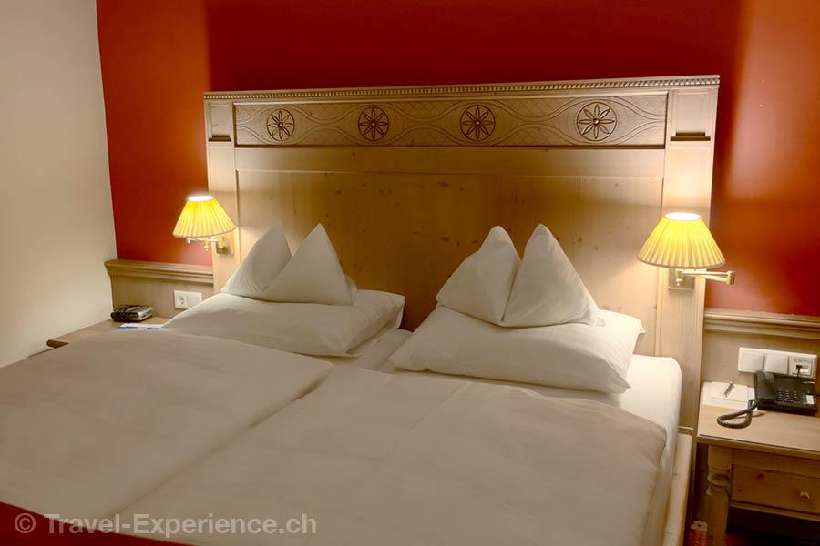 oesterreich, Bad Hofgastein, Hotel Bismarck, Schlafzimmer,
