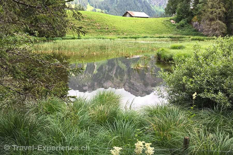 Schweiz, Saanen, Gstaad, Huus Hotel, Lauenensee