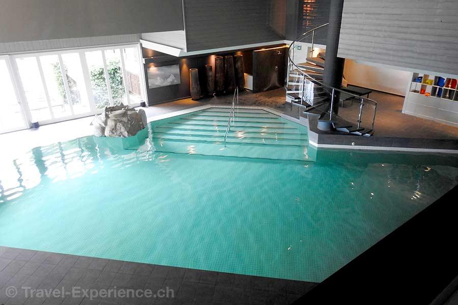 Schweiz, Saanen, Gstaad, Huus Hotel, Pool, Wellness