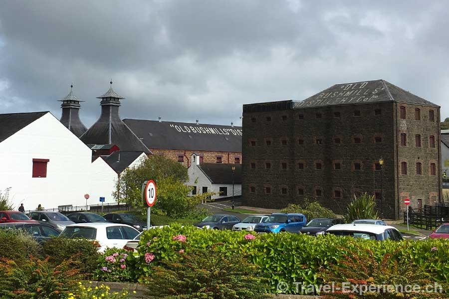 Bushmills, Distillery, Destillerie, Whiskey, Whisky, Nordirland