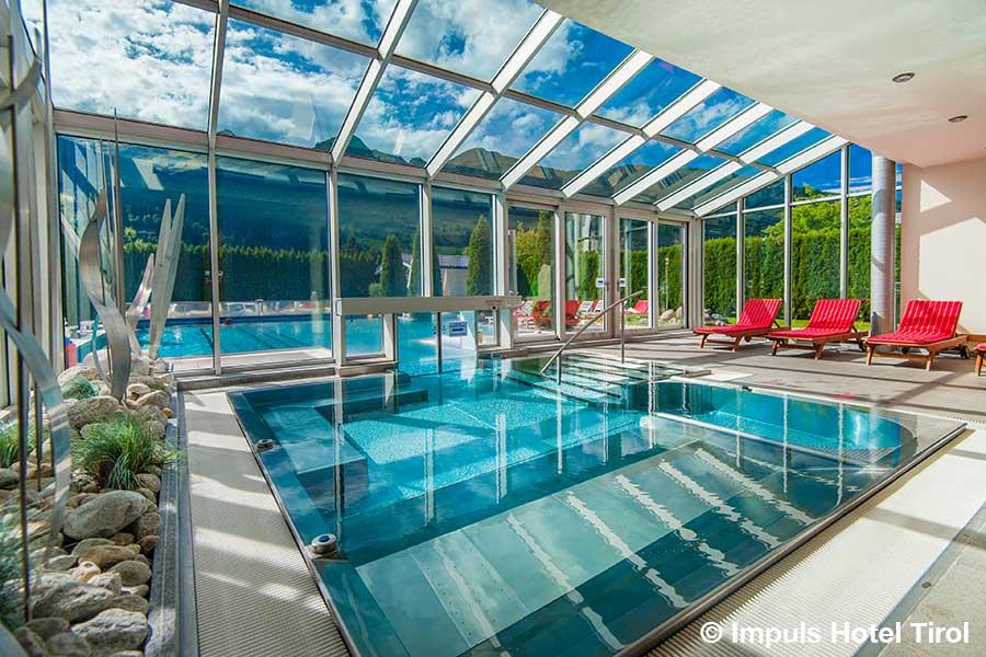 oesterreich, Bad Hofgastein, Impuls Hotel Tirol, pool, wellness, gasteiner, thermalbad, thermalwasser
