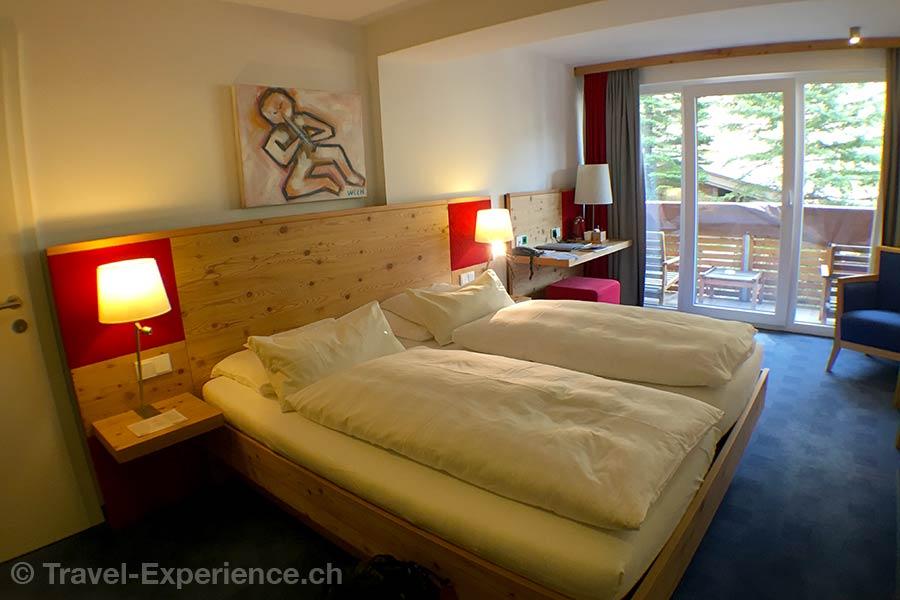 oesterreich, Bad Hofgastein, Impuls Hotel Tirol, Zimmer, Bett