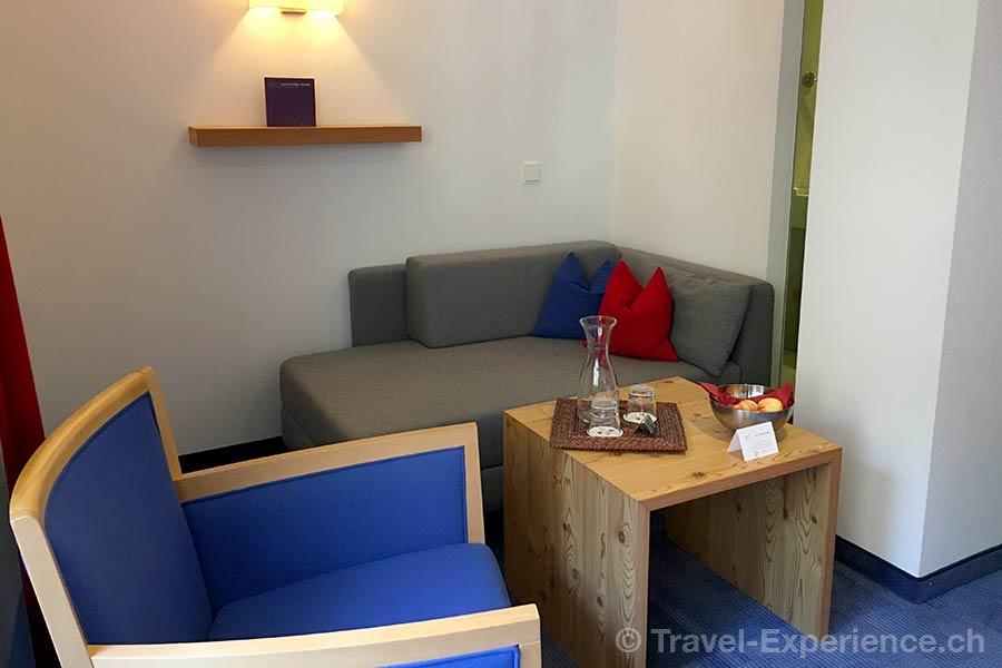 oesterreich, Bad Hofgastein, Impuls Hotel Tirol, Zimmer, Sitzecke