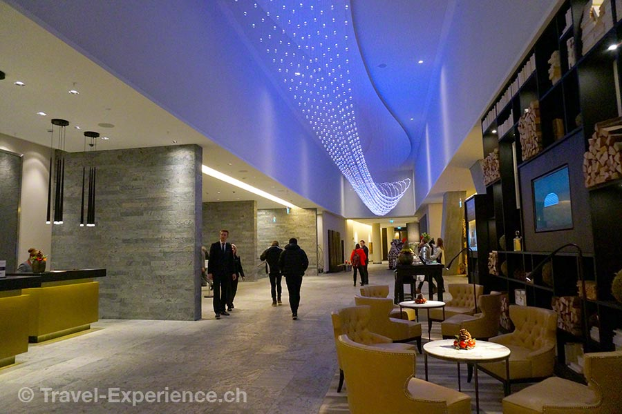 InterContinental Davos, Entrée