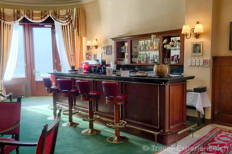 Schweiz, Lugano, Hotel International au Lac, Blues Bar