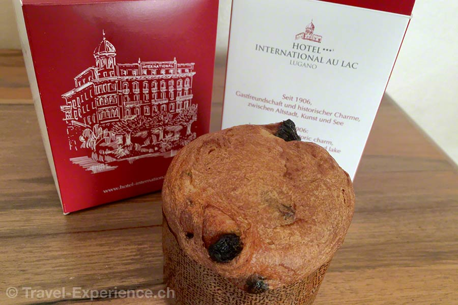 Schweiz, Lugano, Hotel International au Lac, Bettmuempfeli