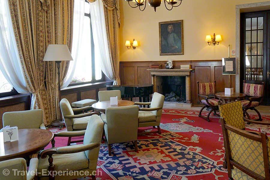 Schweiz, Lugano, Hotel International au Lac, Salon