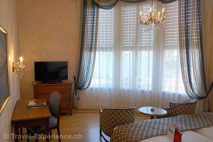 Schweiz, Lugano, Hotel International au Lac, Zimmer