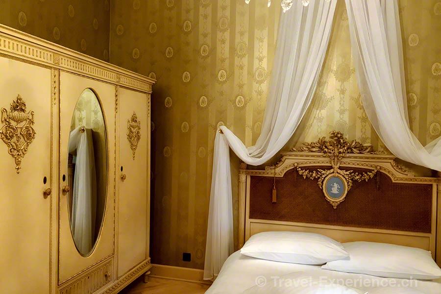 Schweiz, Lugano, Hotel International au Lac, Belle Epoque Zimmer