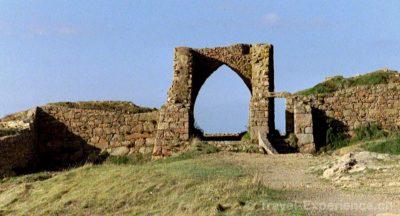 Jersey, Kanalinsel, Grosnez Castle Jersey, Kanalinsel, Rozel Bay, Boote Jersey, Kanalinsel, St Brelade, Fishermans Chapel