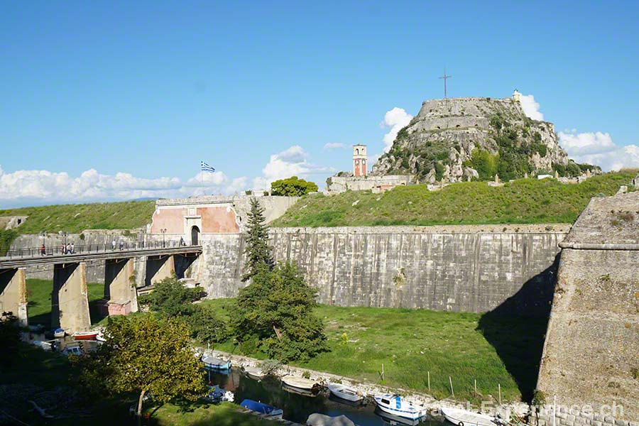 Griechenland, Korfu, Alte Festung