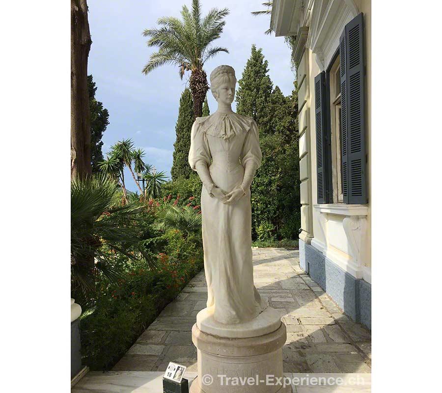 Griechenland, Korfu, Achilleion, Achilion, Kaiserpalast, Sisi, Sissi