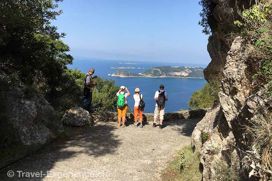 Griechenland, Korfu, Wanderung, Oliven, Agios Georgios