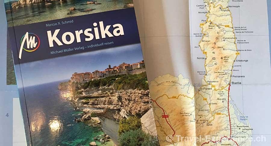 korsika, reisebuch, reisefuehrer, marcus x schmid, michael mueller verlag