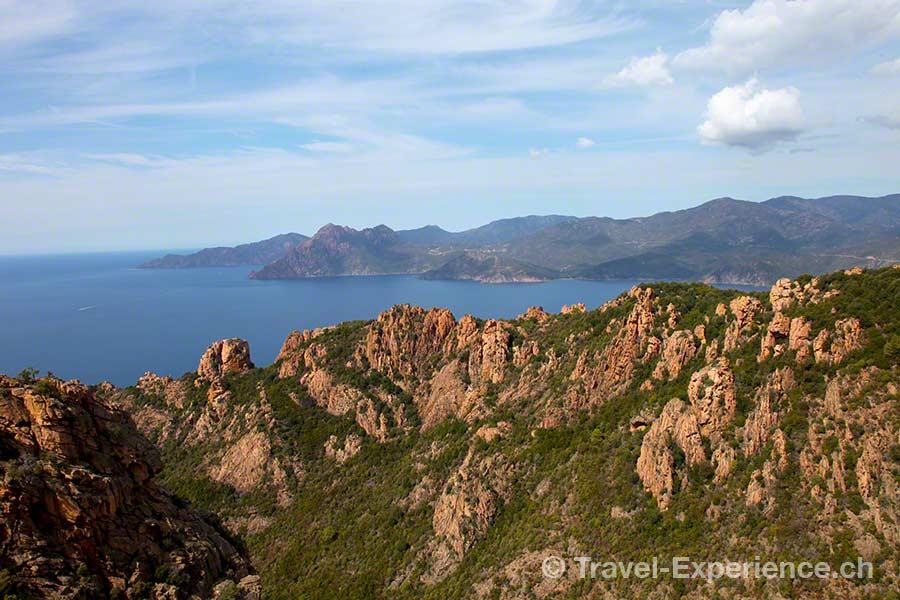 Korsika, Calanche, Piana, Felslandschaft, bizarr, Granit, UNESCO