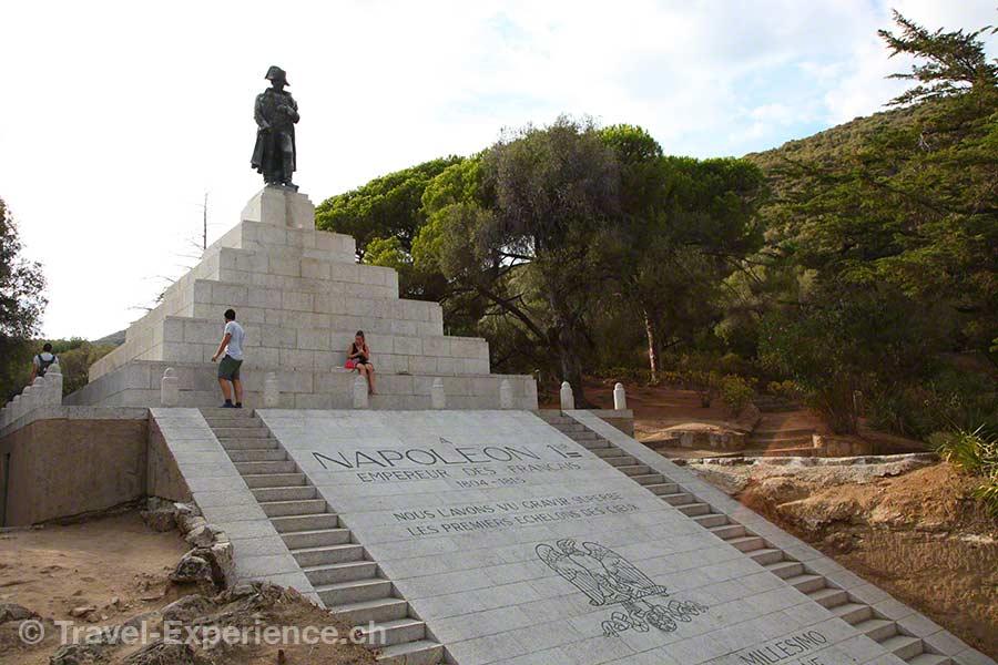 Korsika, Ajaccio, Napoleon, Denkmal