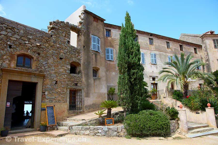 Korsika, Pigna, Palazzu, Hotel, Restaurant