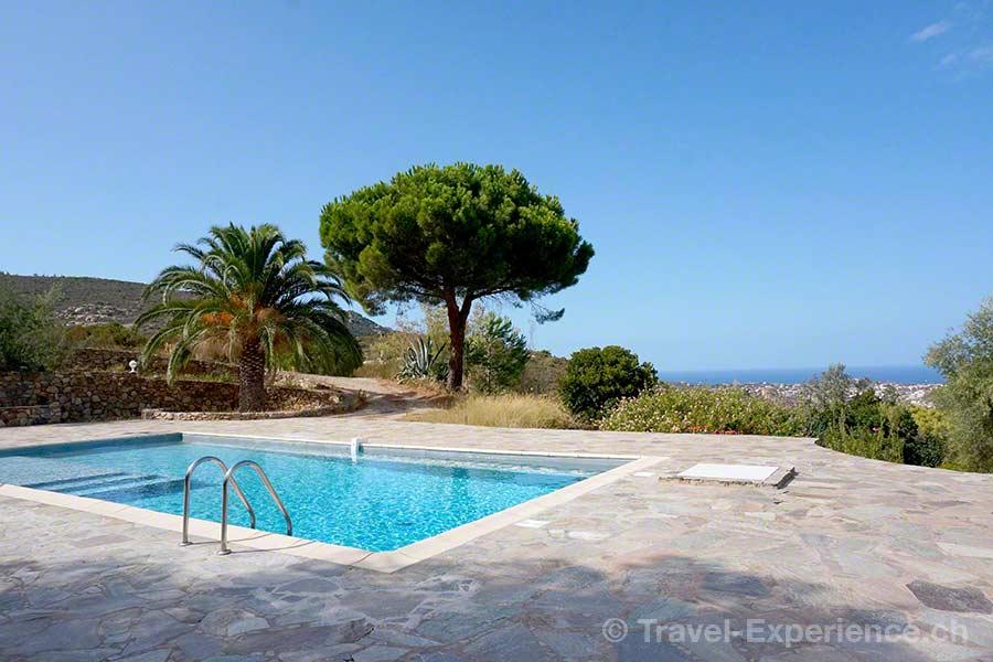 Korsika, Calvi, Piazzili, Ceccu, Pool