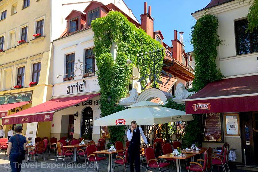 Polen, Krakau, Judenviertel, Kazimierz, Restaurants