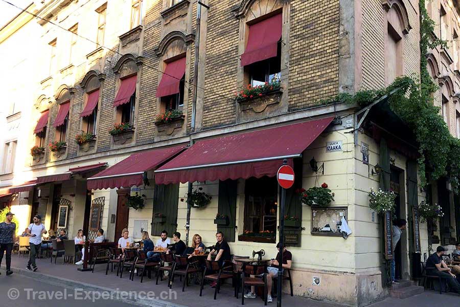 Polen, Krakau, Judenviertel, Kazimierz, Cafe Singer