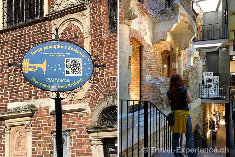 Polen, Krakau, Turmblaeser, Marienkirche, QRcode, Architektur,
