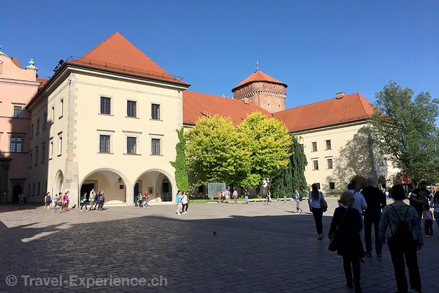 Polen, Krakau, Schloss, Wawel