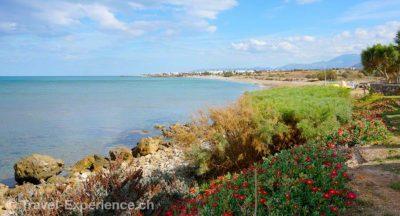Kreta, Strand Kreta, Rethymno Kreta, Rethymno, Kirche Tessaron Martyron