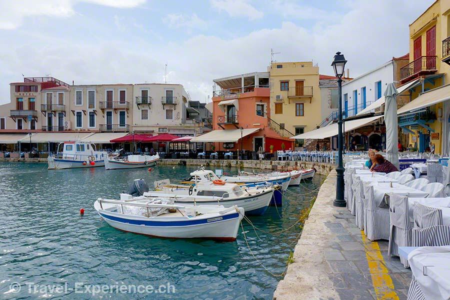 Kreta, Rethymno, Hafen