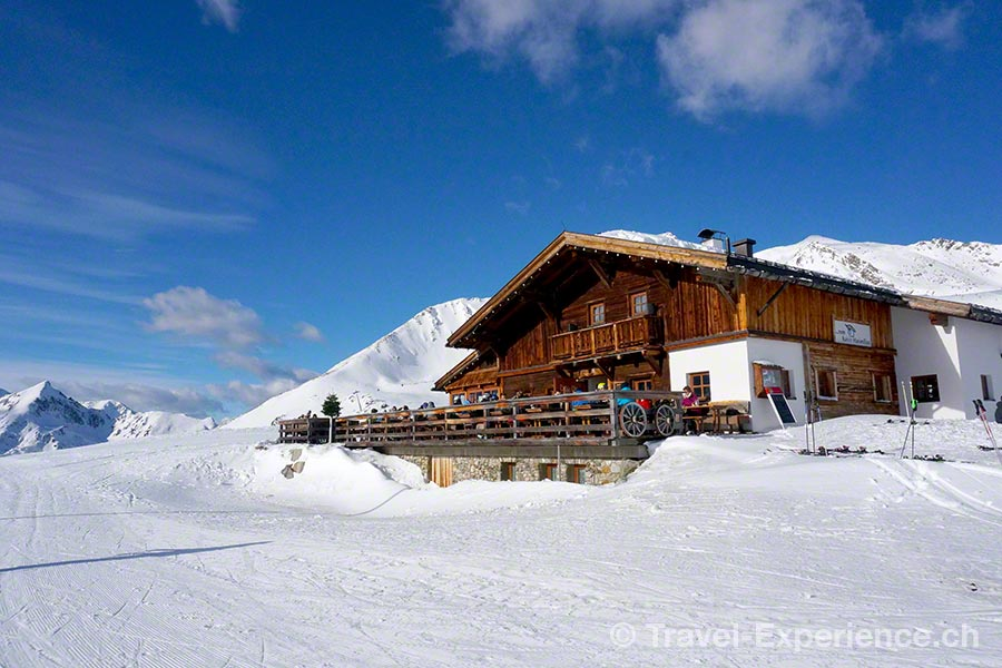 Kühtail, Skigebiet