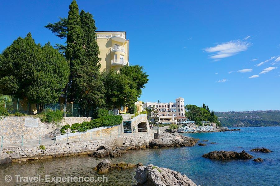 Kroatien, Kvarner, Opatija