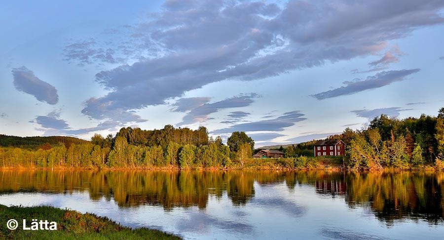 Schweden, Lätta Rallye, Natur