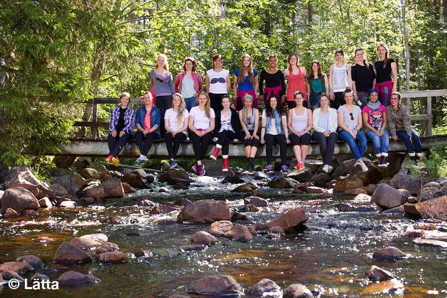 Schweden, Lätta Rallye