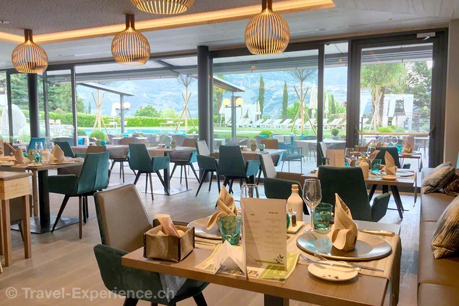 Italien, Suedtirol, Meran, Marling, La Majena Resort, Meran Lodge, Restaurant Fiorello