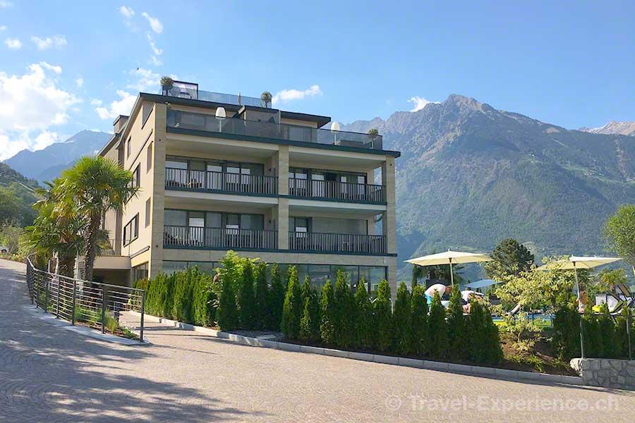 Italien, Suedtirol, Meran, Marling, La Majena Resort, Meran Lodge,
