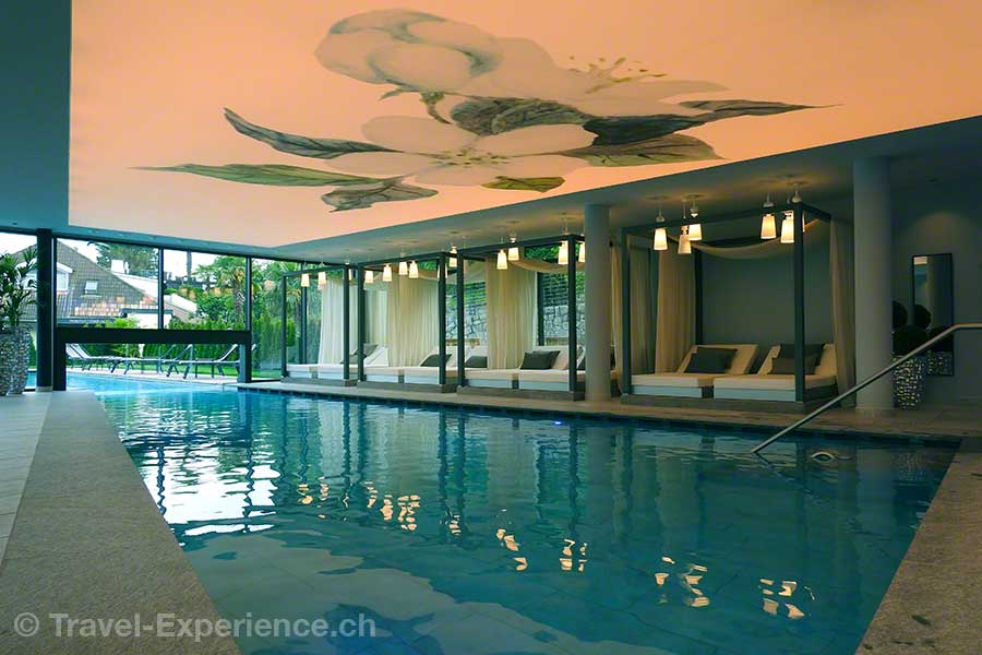 Italien, Suedtirol, Meran, Marling, La Majena Resort, Meran Lodge, Innenpool