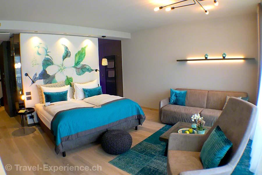 Italien, Suedtirol, Meran, Marling, La Majena Resort, Meran Lodge, Suite
