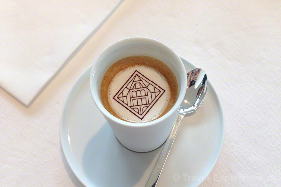 Villa Lalique, Restaurant, Espresso