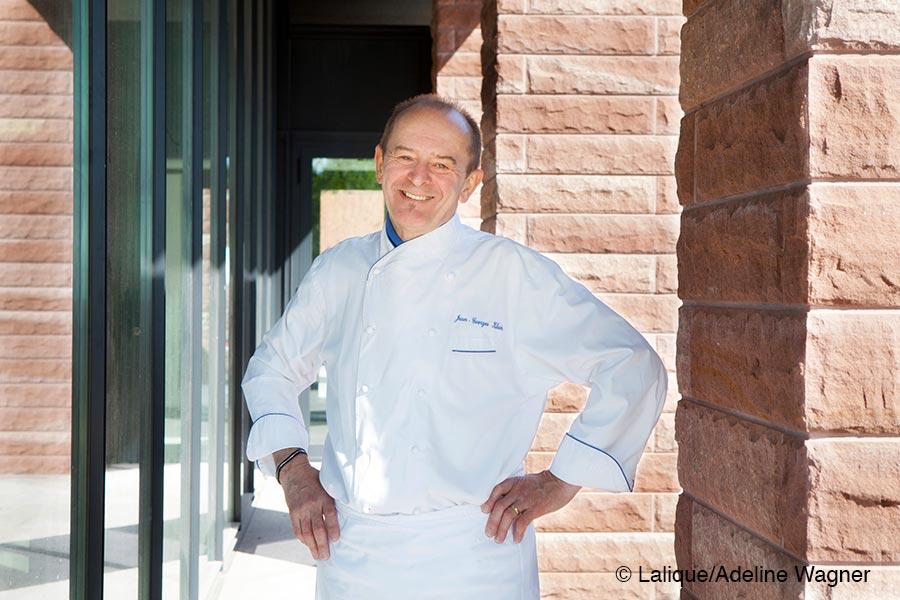 Villa Lalique, Restaurant, Chef Jean-Georges Klein