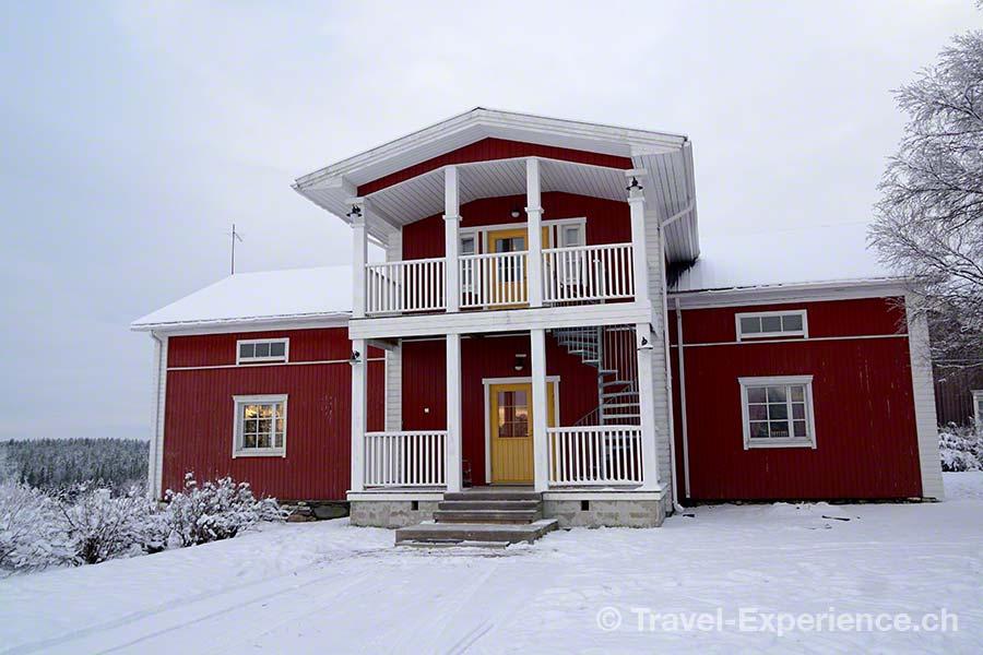 Finnland, Lappland, Ruka, Kuusamo, Pohjolan Pirtti, Ferienwohnung