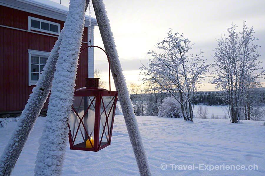 Finnland, Lappland, Ruka, Kuusamo, Pohjolan Pirtti, Winter, Impression